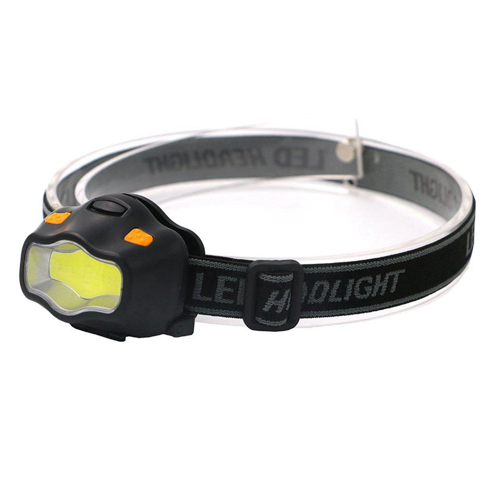 Unique ZHISHUNJIA YH-6889 COB White + Red LED Dual Light Glare Headlight (3xAAA)