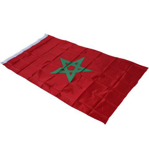 Unique Hot 90X150 Cm Moroccan Flag Banner Hanging Home Decor