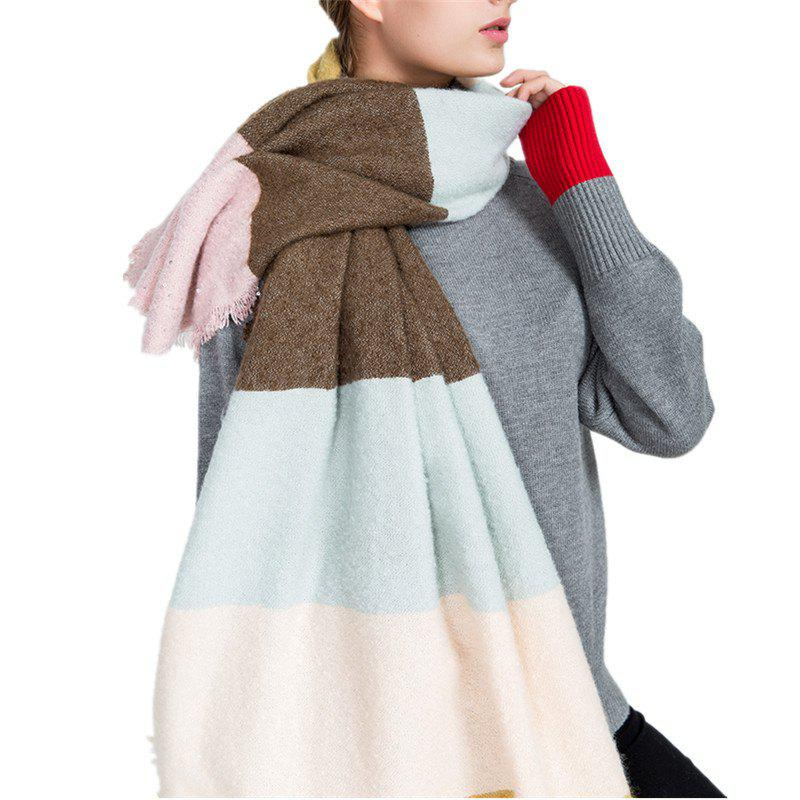Buy M1717 Rainbow Collage Sand Sequins Scarf