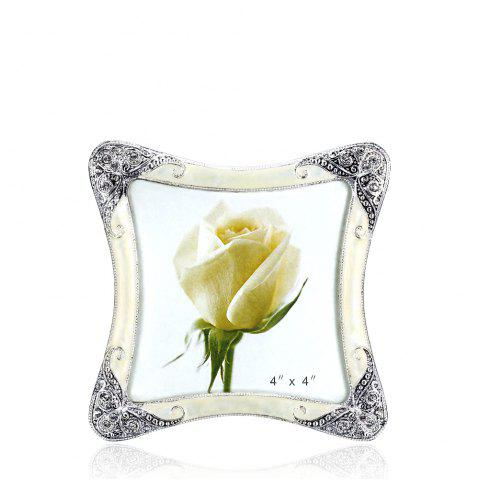 Chic Bz-01 European Retro Artificial Diamond Metal Photo Frame
