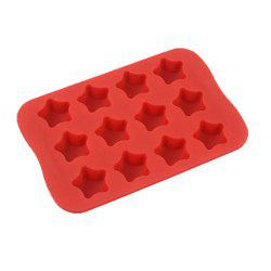 Star Shape Silicone Ice Cube Mold DIY Cake Jelly Chocolate Tool -
