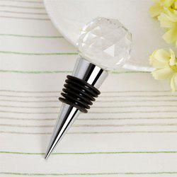 Creative Crystal Ball Wine Stopper -