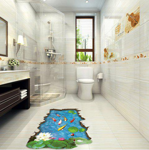Buy 3D Cartoon Fish Pattern Wall Stickers Creative Home Decoration