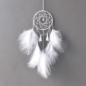 Nouveau Creative White Moonlight Dreamcatcher suspendus décorations -