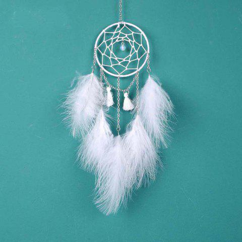 Nouveau Creative White Moonlight Dreamcatcher suspendus décorations