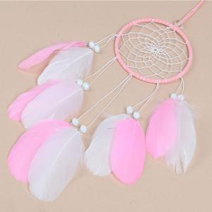 Nouveau Style Feather Dreamcatcher fait à la main décoration de la maison -