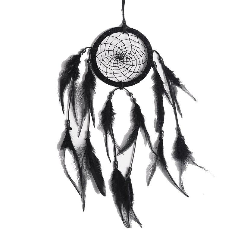 Shops Black and White Simple Dreamcatcher Handcraft Home Decoration Gift