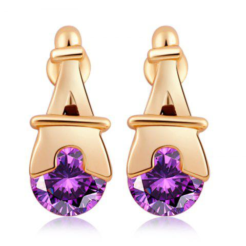 Affordable Personality Pagoda Fine Zircon Earrings ERZ0280