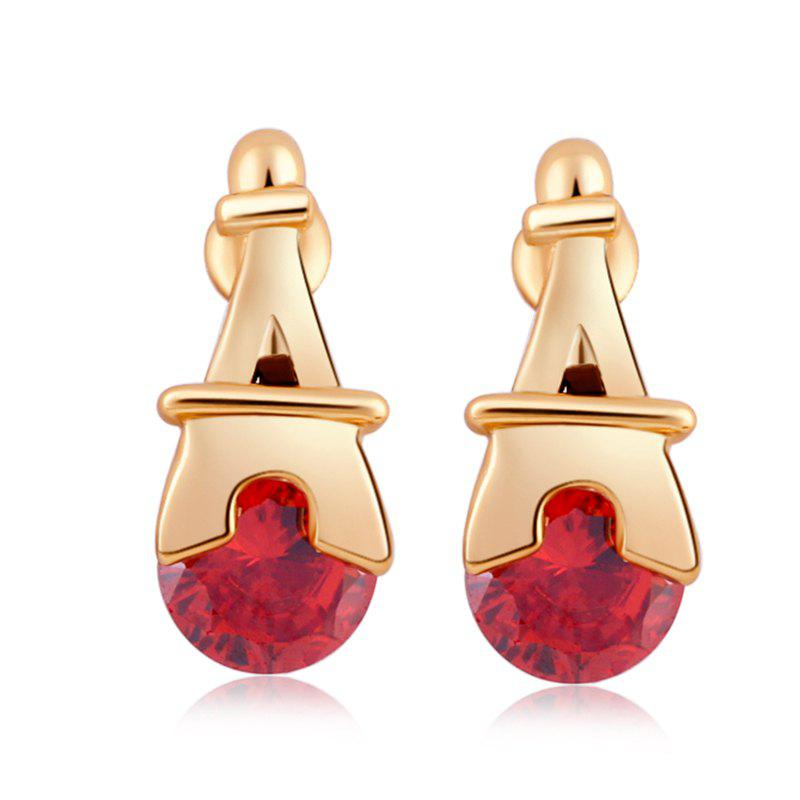 Outfits Personality Pagoda Fine Zircon Earrings ERZ0280