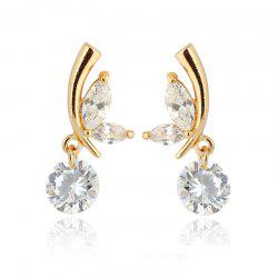 Flying Butterflies Exquisite Zircon Earrings ERZ0281 -