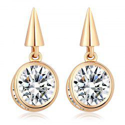 Simple Personality Exquisite Zircon Earrings ERZ0290 -