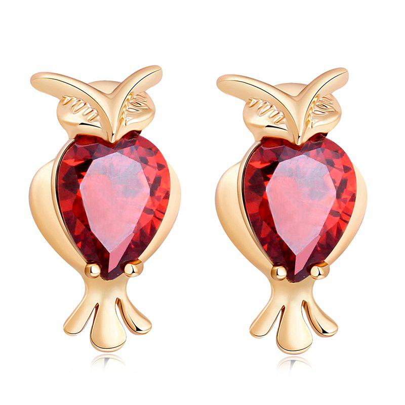 Shops Lovely Owl Exquisite Zircon Earrings ERZ0291