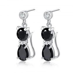 Lovely Beautiful Zircon Earrings ERZ0297 -