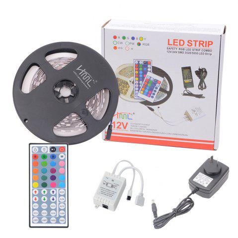 Outfits HML 5050 x300 RGB LED Lights Kit with 44key IR Remote Controller and AU-plug