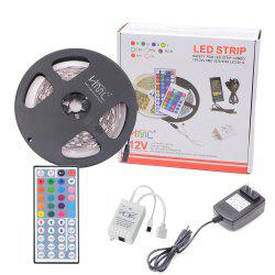 HML 5050 x300 RGB LED Lights Kit with 44key IR Remote Controller and US-plug -