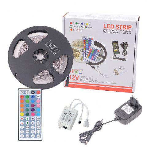 Buy HML 5050 x300 RGB LED Lights Kit with 44key IR Remote Controller and EU-plug