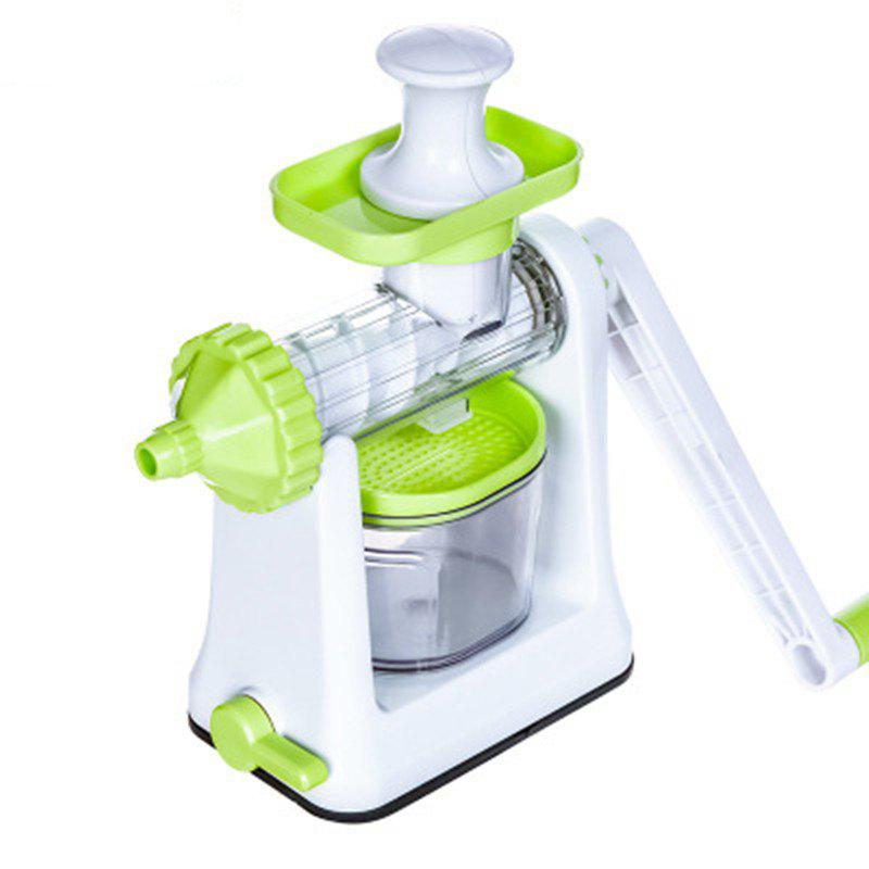 Store Hand Crank Single Auger Health Juicer Fruit And Vegetable Juice