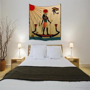 Egyptian Sun God 3D Printing Home Wall Hanging Tapestry for Decoration -