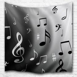 Wave Notes 3D Printing Home Wall Hanging Tapestry для украшения -