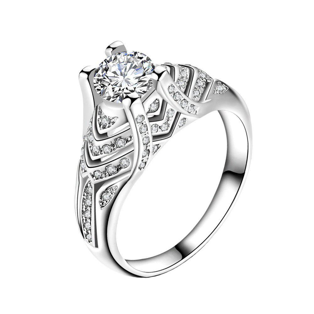 Discount Artificial Micro Diamond Zircon Ring