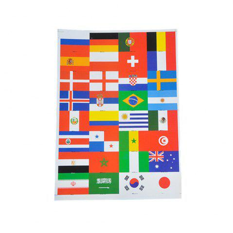 Fancy World Cup Fan Face Stickers