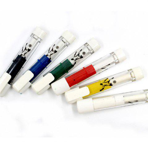 Trendy 6PCS Ball Game Props Body Paint Pen