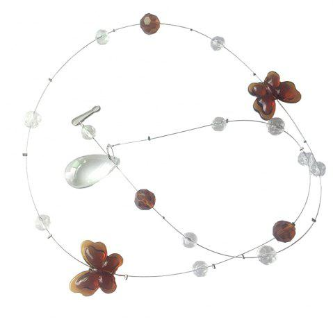 Store Butterfly Crystal Bead Curtain