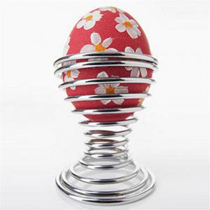 Stainless Steel Egg Spring Support Practical Shelf Tools -