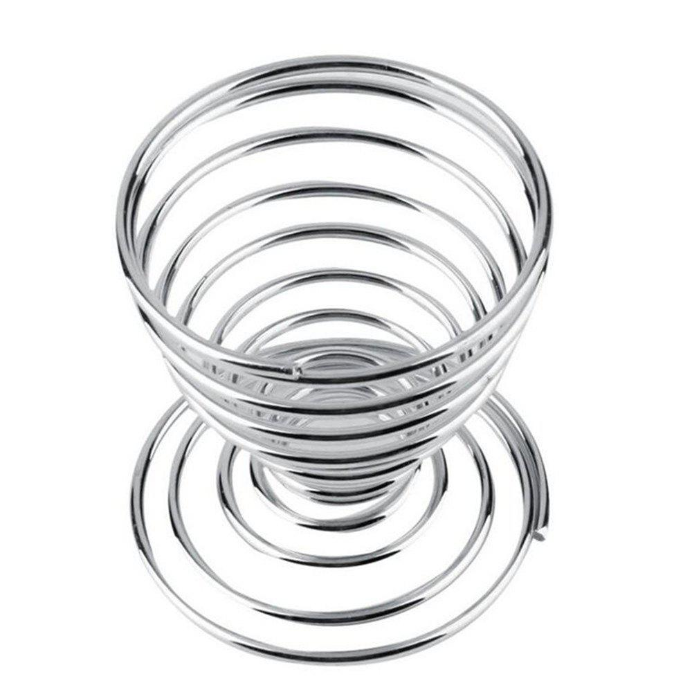 Fancy Stainless Steel Egg Spring Support Practical Shelf Tools