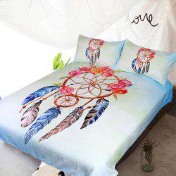 Rose Dreamcatcher Bedding  Duvet Cover Set Digital Print 3pcs -