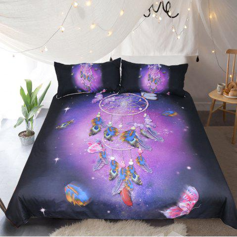Affordable Butterfly Dreamcatcher  Bedding  Duvet Cover Set Digital Print 3pcs
