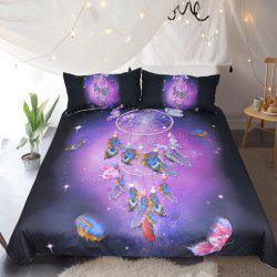 Butterfly Dreamcatcher  Bedding  Duvet Cover Set Digital Print 3pcs -