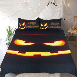 Happy Halloween Bedding  Duvet Cover Set Digital Print 3pcs -