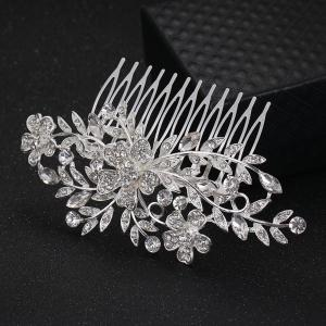 New-style 3 Flowers Leaves Comb -
