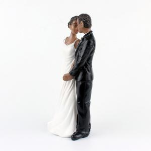 New Style Life Long Black Couple Decoration -