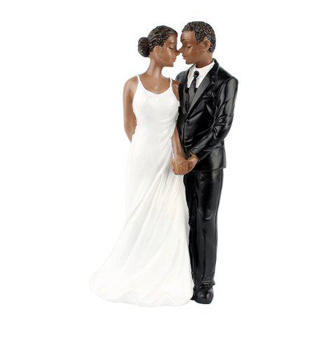 Hot New Style Life Long Black Couple Decoration