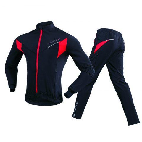 Discount REALTOO Men's Windproof Athletic Suits for Outdoor and Multi Sports Cycling Suit