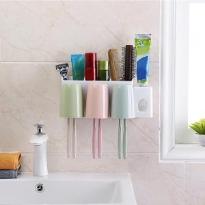 6-HOLE Toothbrush Holder in Bathroom -