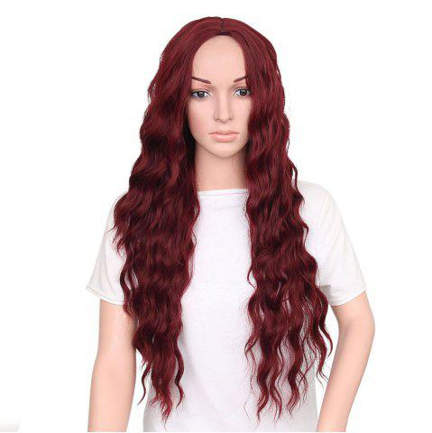 Store Fashion Long Loose Curly Synthetic Heat Resistant Wig For African American Women