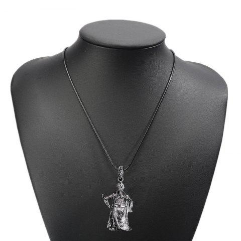 Fancy Fashion Personality Necklace Men Simple Titanium Steel Pendants