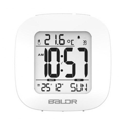 Store Digital Temperature Humidity Meter Wall Clock