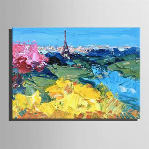 Special Design Frameless Paintings City Print -
