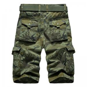 Men's Pockets Camouflage Shorts -