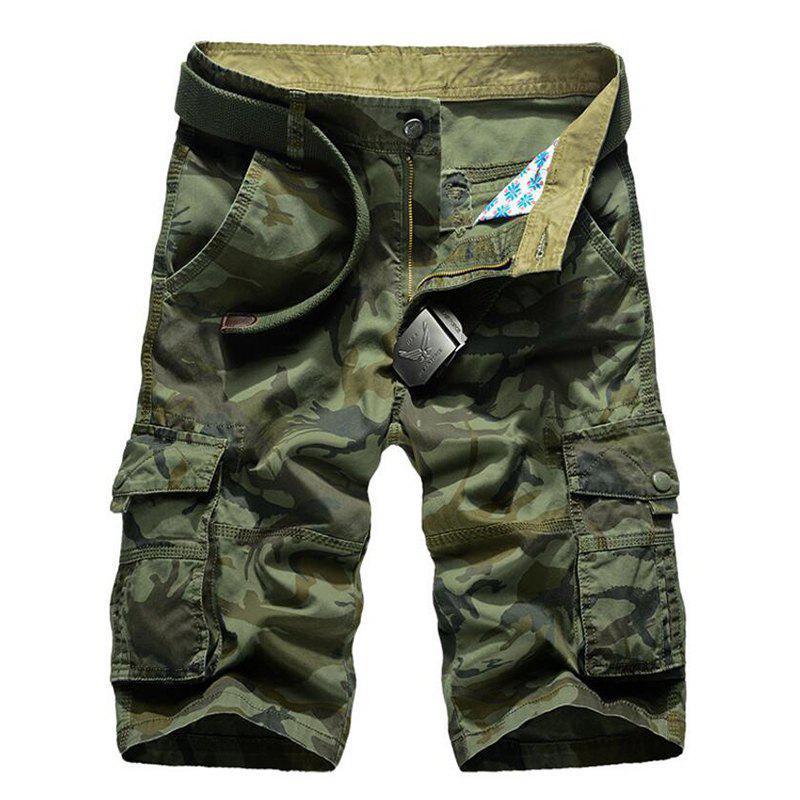 Sale Men's Pockets Camouflage Shorts