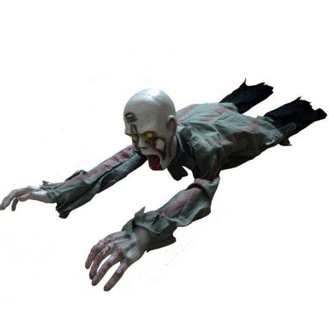 Sale Photo Electric Skull Crawling Horror Haunted Ghost Zombie