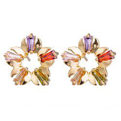 Fashion Zircon Earrings ERZ0396 -