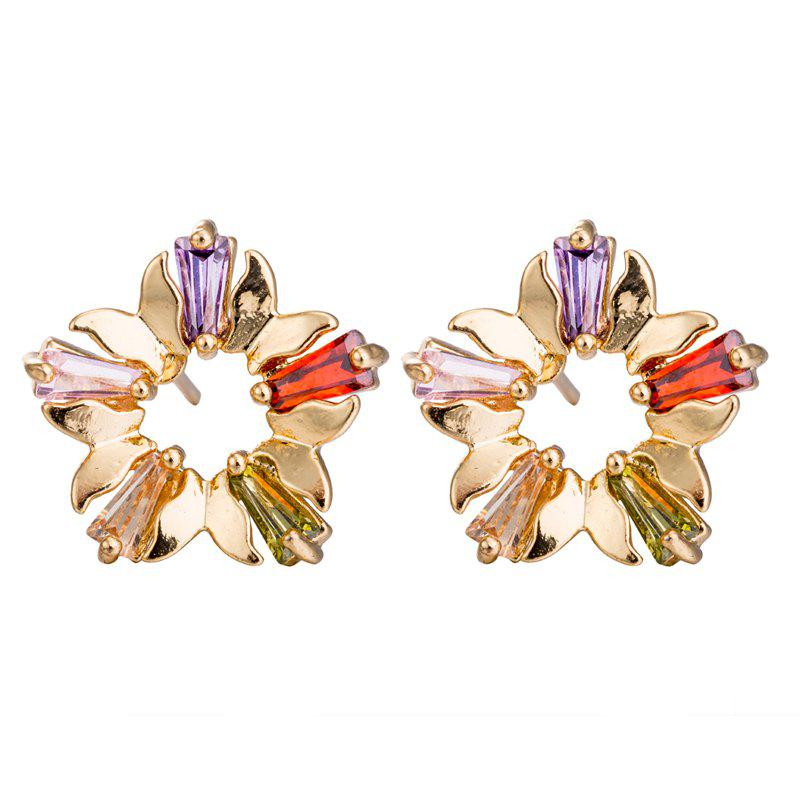 New Fashion Zircon Earrings ERZ0396