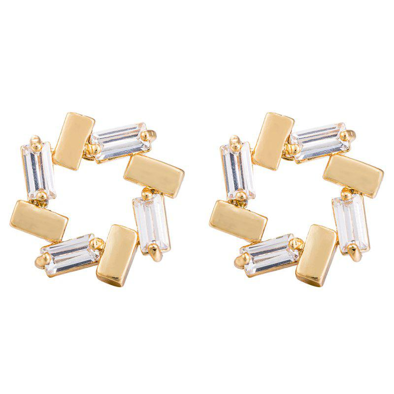 Hot Simple and Exquisite Zircon Earrings ERZ0399