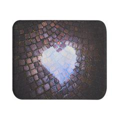 Love Stone Super Soft Non-Slip Bath Door Mat Machine Washable Quickly Drying -