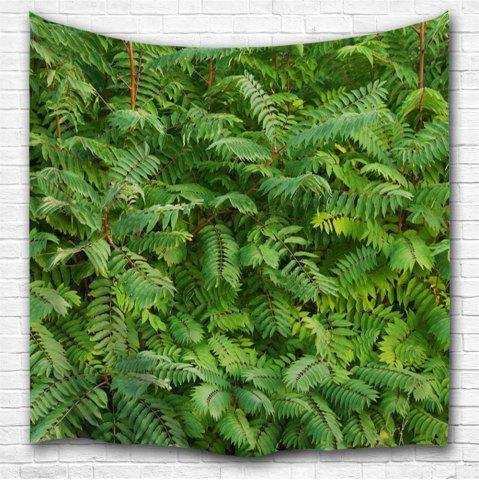 Cheap Green Leaf 3D Printing Home Wall Hanging Tapestry for Decoration